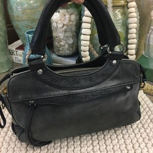 Ted Baker London leather satchel